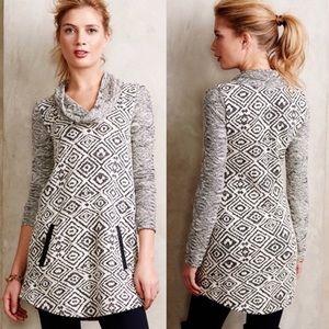 Anthropologie Postmark Konya Cowl Neck Sweater